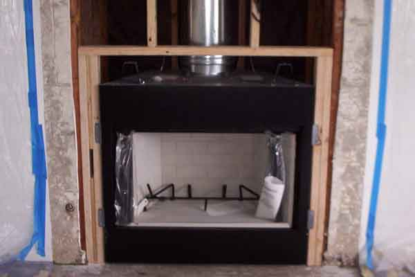 Pre Fabricated Fireplace Repair Installation San Diego Chimney Sweep Prefabricated