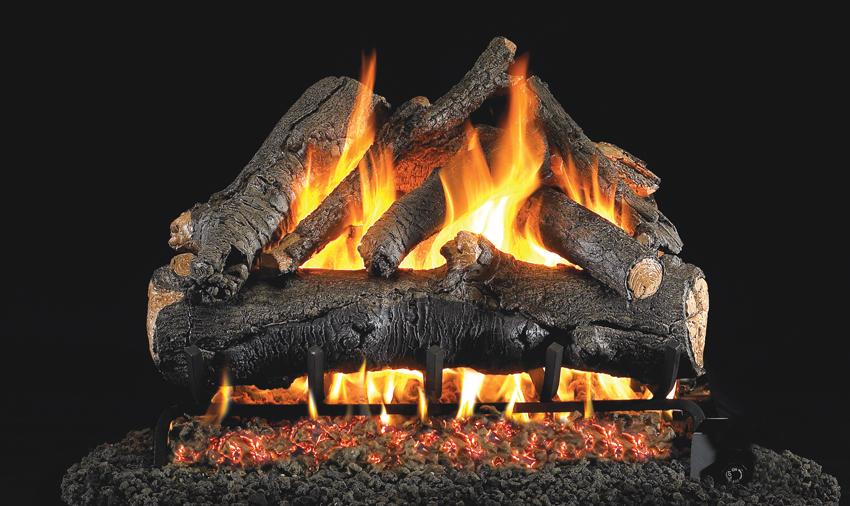 American Oak Gas Logs